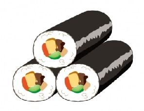 恵方巻きの始まりと巻き寿司の中身 恵方とは?