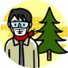 花粉症にメガネは効果大おしゃれなメガネは高いが100均でも