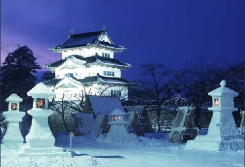 弘前城燈籠