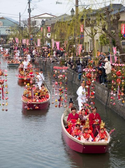 水上パレード