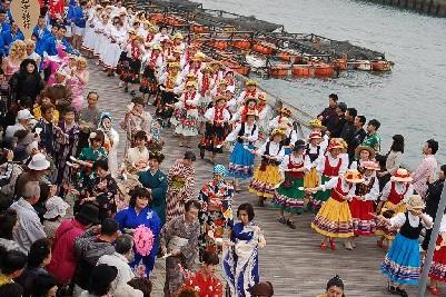八丁浜総踊り