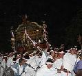 宮津祭りの神輿巡幸と芸屋台