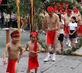 高良大社川渡祭別名へこかきまつり