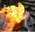熊野那智大社那智の火祭りと駐車場