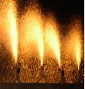 豊橋祇園祭の花火と手筒花火