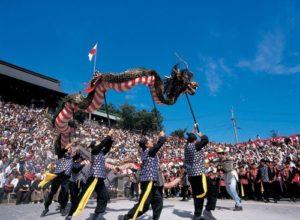 長崎くんちの見どころと今年の開催日や交通アクセス