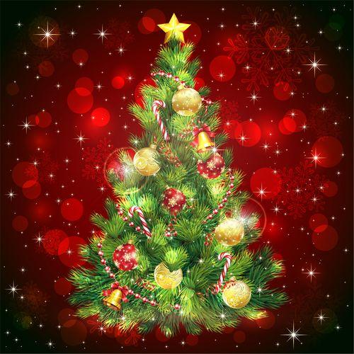 クリスマスツリーの高さと電球の数|きれいに飾るテクニック