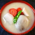 香川県の雑煮のレシピ あんもち雑煮