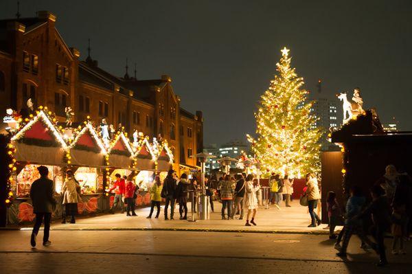 クリスマスマーケット in 横浜赤レンガ倉庫はドイツの雰囲気が楽しめる