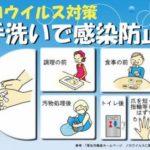 ノロウイルスの予防策は手洗いが一番