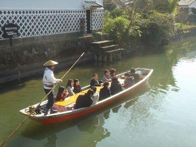 福岡県柳川市のこたつ舟|暖かいどんこ舟で城下町を巡ろう