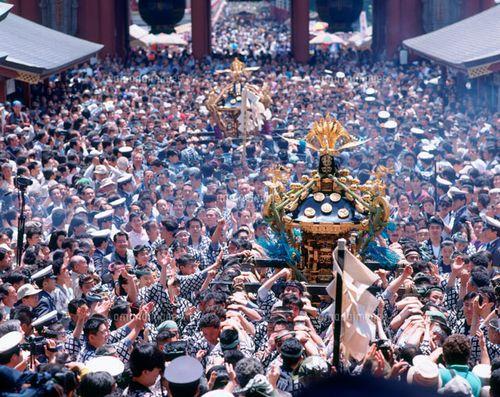 浅草神社三社祭の日時とスケジュール交通アクセスなど